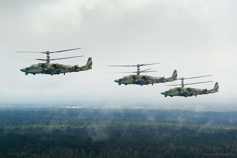 Камов Ка-52 ВКС России 146_D800196