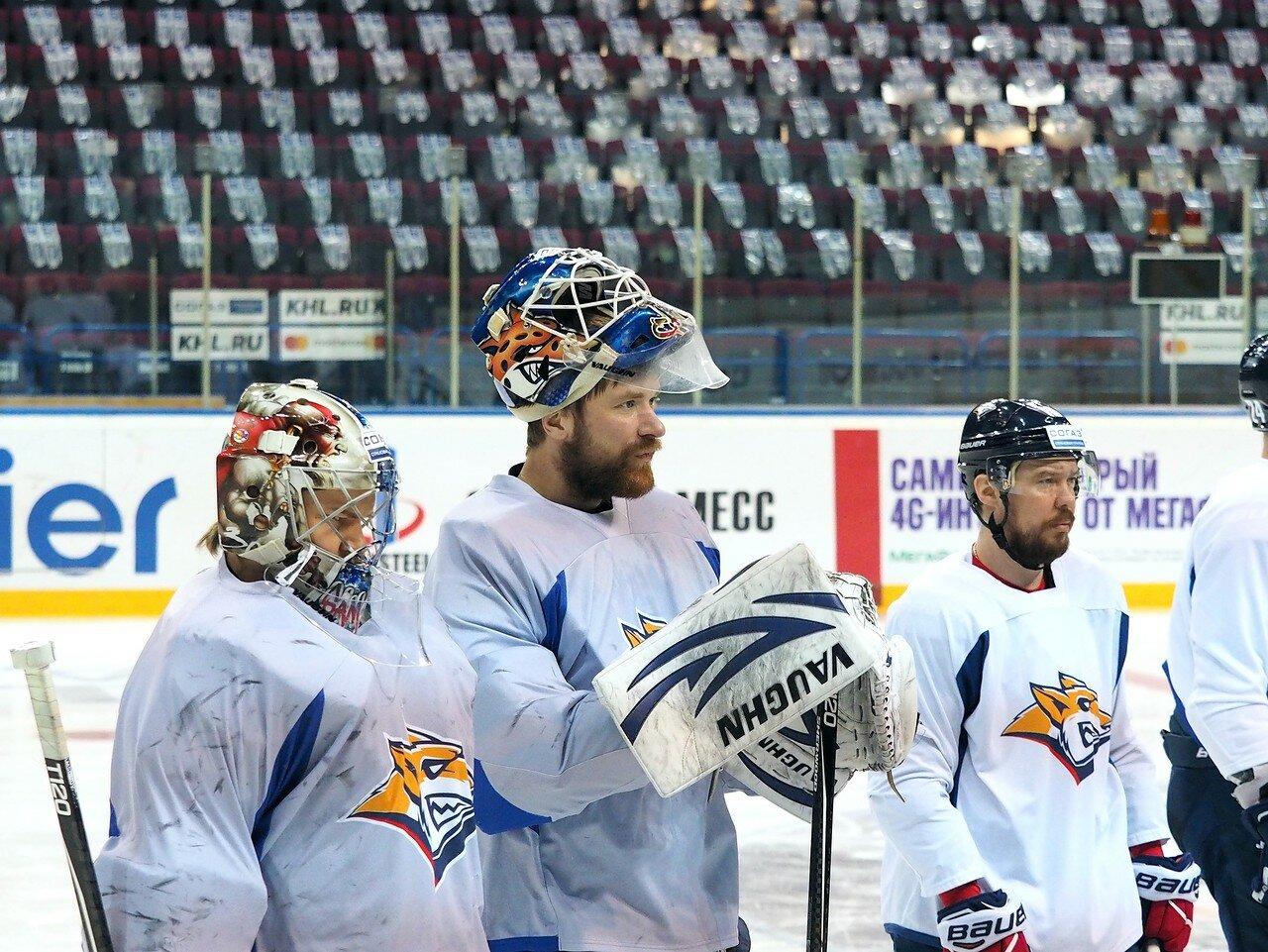 9 Открытая тренировка перед финалом плей-офф КХЛ 2017 06.04.2017