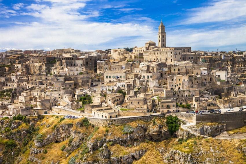 Matera - ancient cave town in Basilicata, Italy