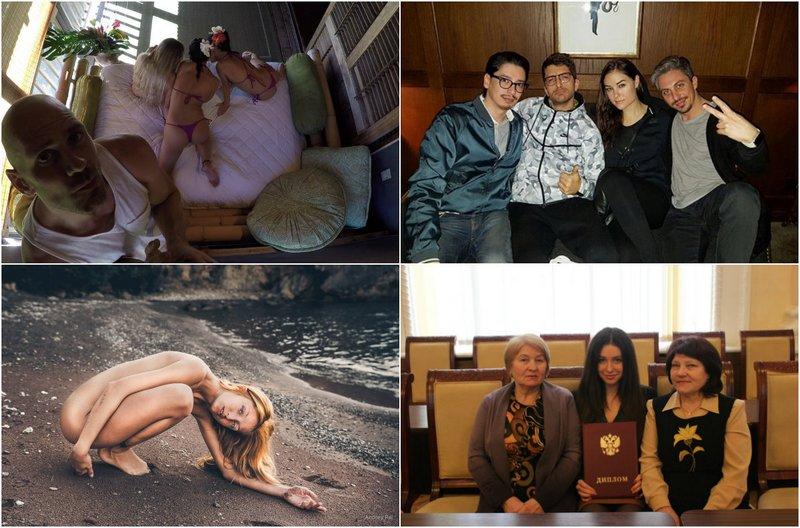 Что публикуют порноактеры «ВКонтакте»