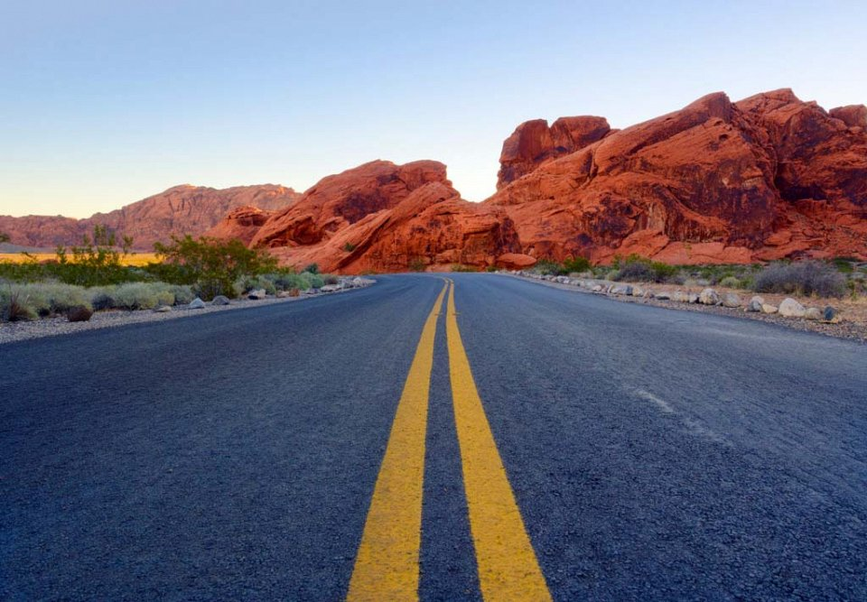 Одни из самых красивых дорог мира