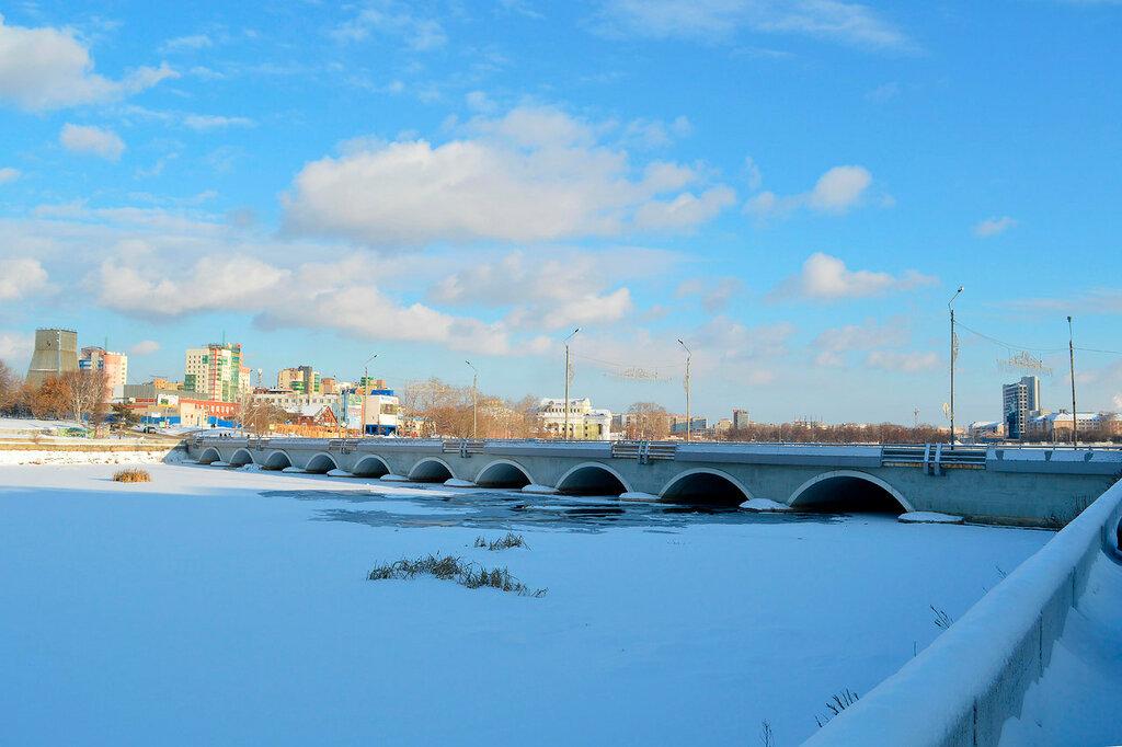 Мост через р. Миасс
