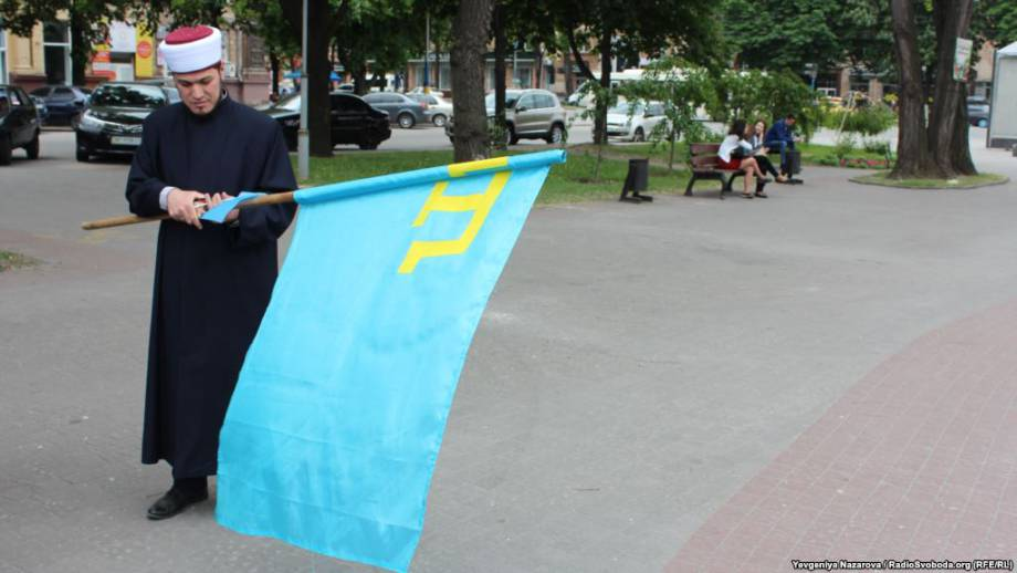 В Запорожье почтили память жертв депортации крымских татар