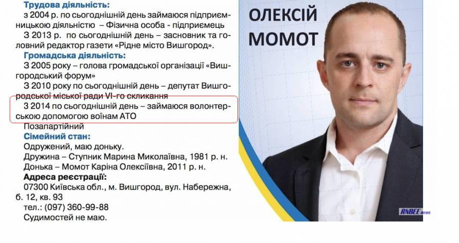 """Ситуация с проникновением Деревянко и Авербуха в воинскую часть """"характеризует довольно низкий уровень общей боеспособности украинской армии"""", - Винник"""