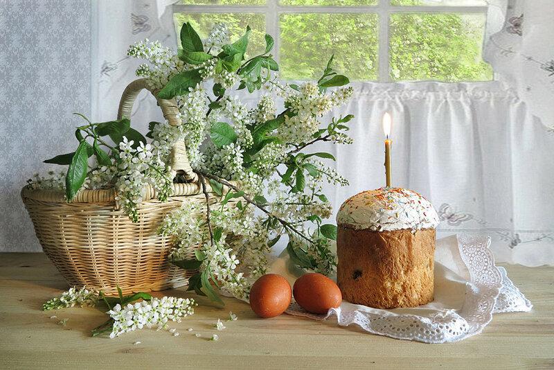 Поздравляю всех со Светлой Пасхой! Любви и Мира в ваши дома! Христос Воскресе!
