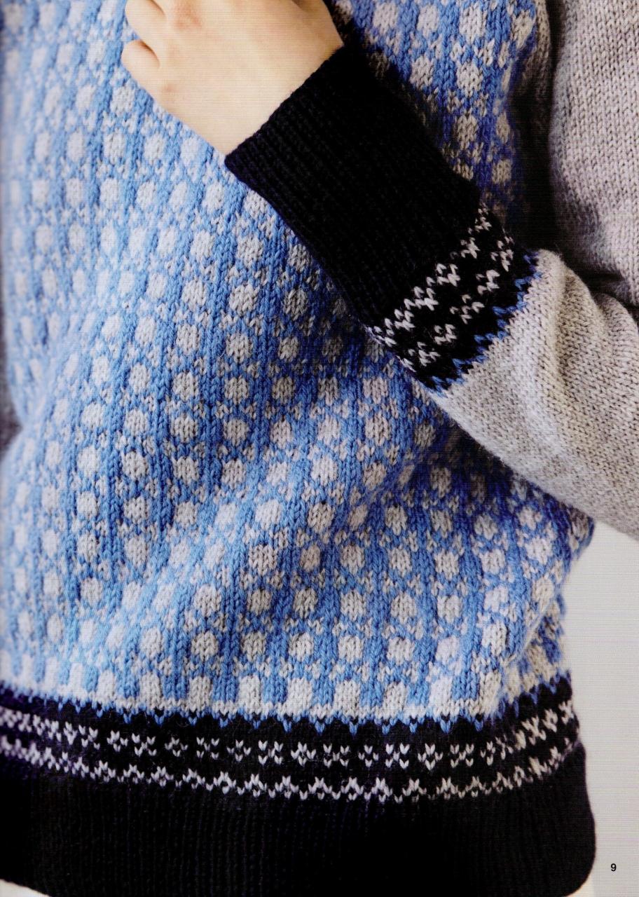 вязание япония жакеты схемы