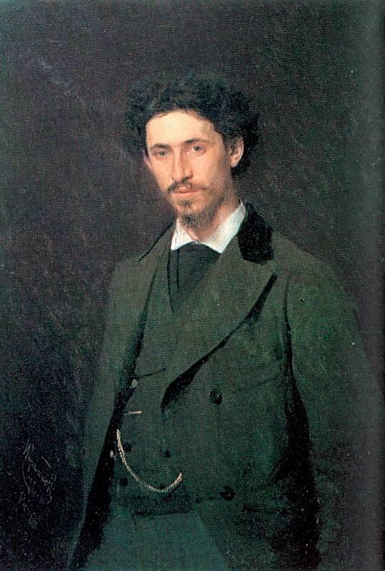 Портрет художника И. Е. Репина.jpg