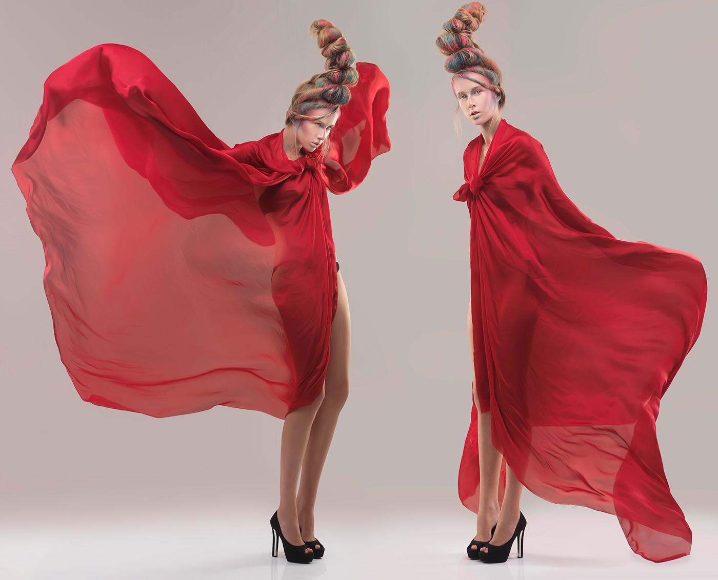 Ольга в красном платье - Владислав Петровский