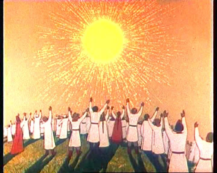 Открытки. 3 мая День Солнца! Ярило-образ весеннего солнца
