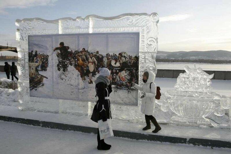 Фестиваль ледяных скульптур «Волшебный лед Сибири»