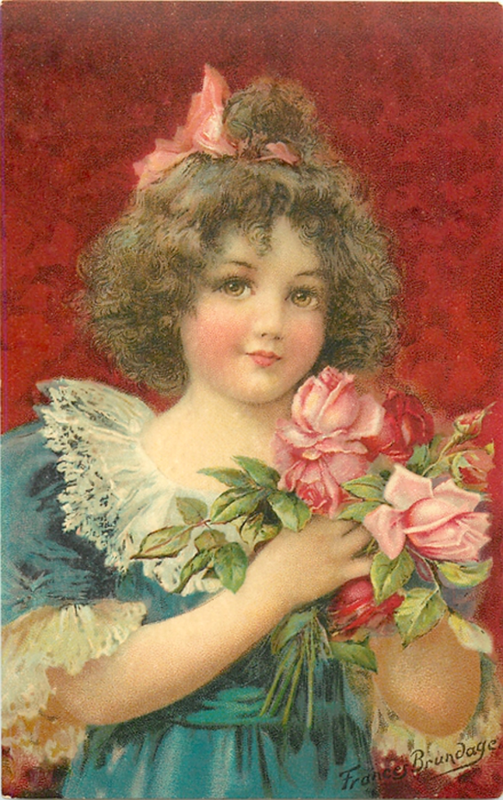 Старинные открытки дети, поздравлением племянника