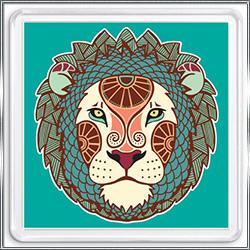 Магнит сувенирный Знак Зодиака Лев