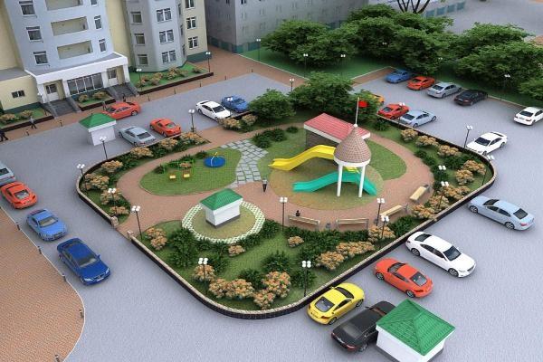 Ставрополье вложит в облагораживание  придомовых территорий 609 млн руб.