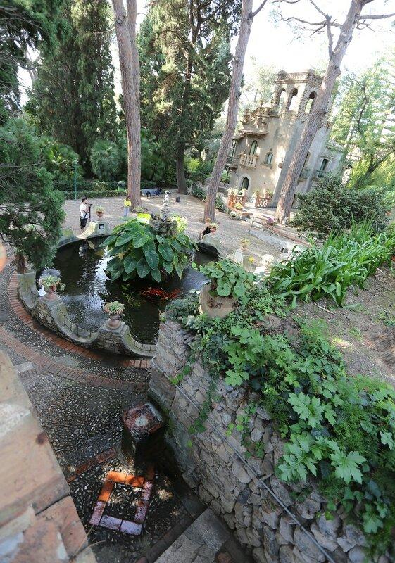 Таормина. Городской парк (Villa Comunale, Parco Duca di Cesarò)