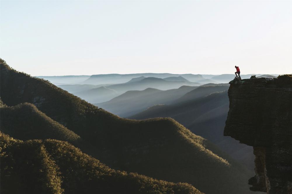 © Benjamin Lee/REX/Shutterstock  Величественные Голубые горы Австралии, покоторым путешествую