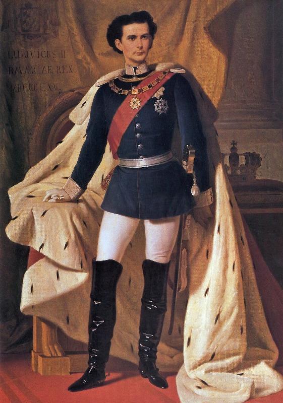 Девятнадцатилетний Людвиг стал королем Баварии в 1864 году. Увлеченный историческими легендами о Кор