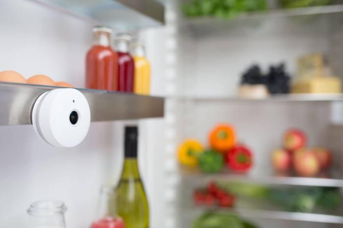 Гаджет, который поможет заглянуть в закрытый холодильник. Когда-нибудь было интересно, что именно пр