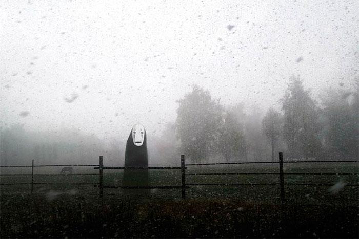«Унесенные призраками».