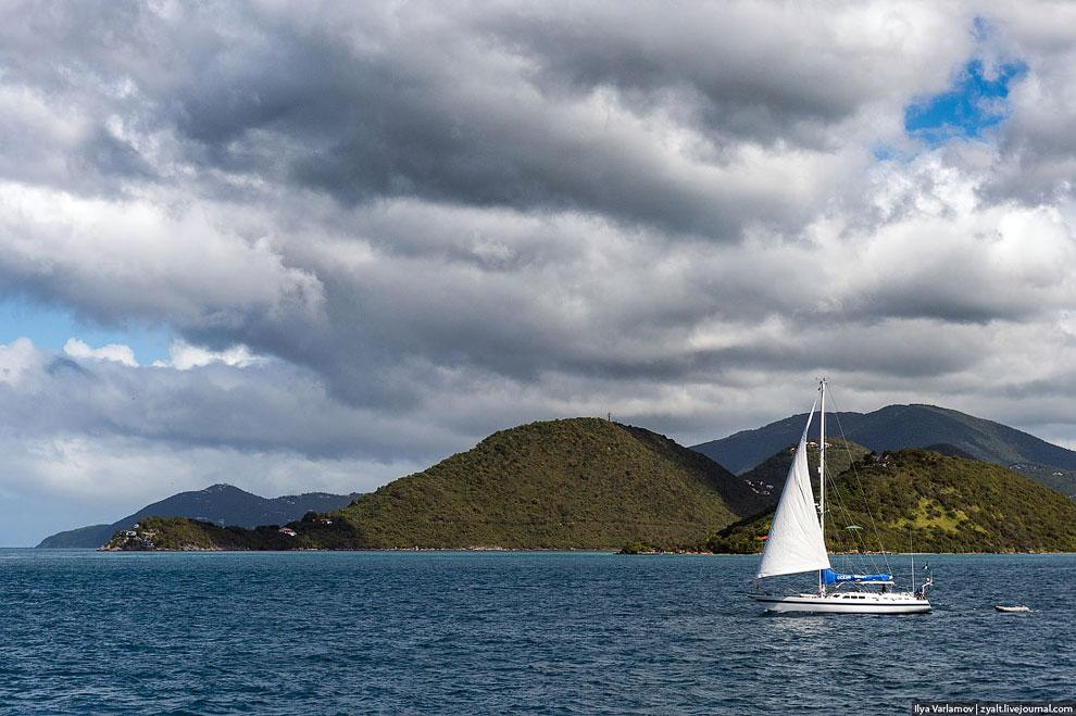 Плывем в соседнее государство — Американские Виргинские острова (АВО, или просто Виргинские ост