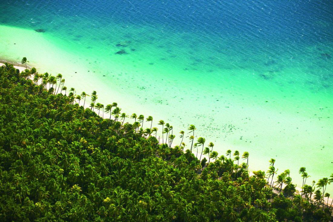 Марлон Брандо впервые посетил этот остров во время съёмок в 1962 году и купил его в 1967-ом. С