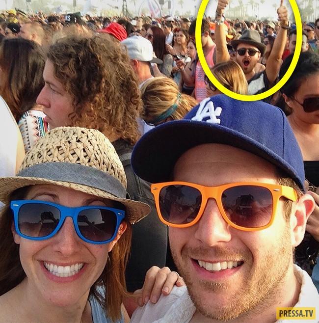 Аарон Пол на фестивале «Коачелла».