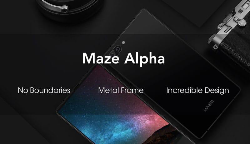 Бюджетный Maze Alpha будет главным конкурентом iPhone 8 и Самсунг Galaxy S8
