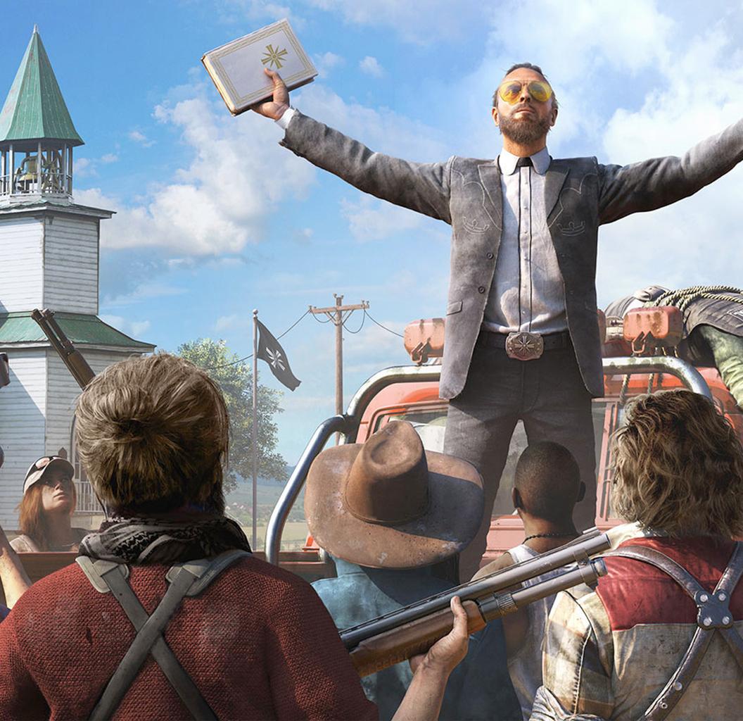 Ubisoft показала 1-ый трейлер Far Cry 5