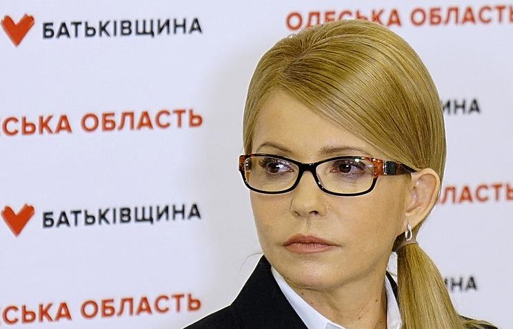 Украинцы готовы поддержать Тимошенко навыборах президента— Опрос
