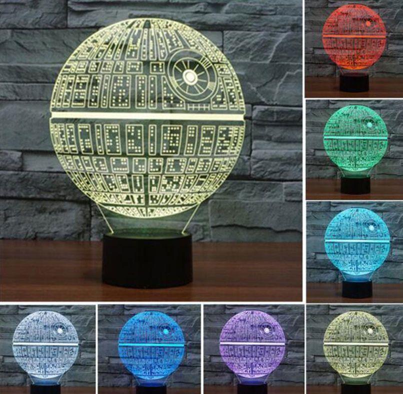 Светодиодный светильник  звездные войны