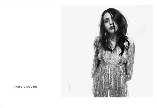 FRANCES BEAN COBAIN Becomes The Face Of MARC JACOBS