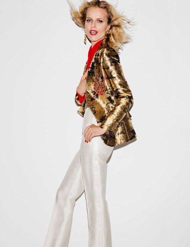 Supermodels Christy Turlington & Eva Herzigova for Vogue Paris April 2017 Issue