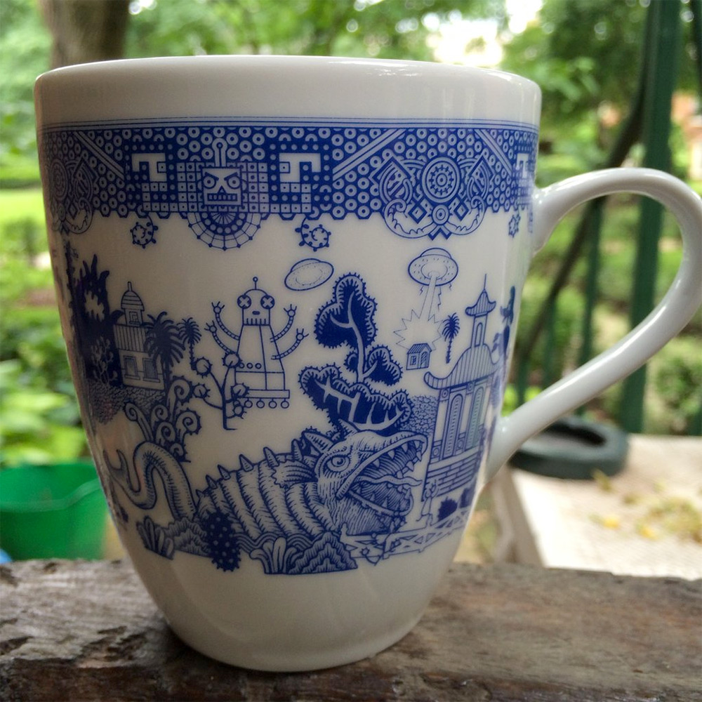 New in the Colossal Shop: Calamityware Mugs