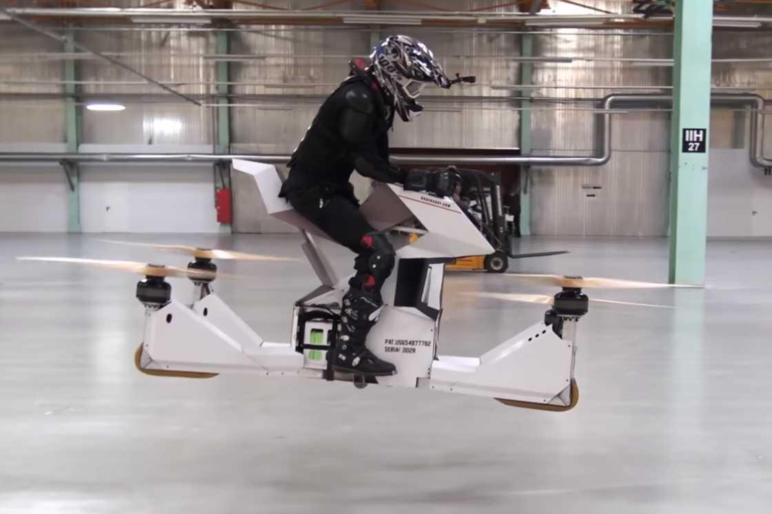 Hoversurf – A futuristic drone bike (10 pics)