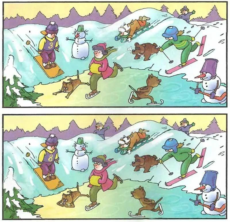 вам ответ к игре найдите отличия на двух картинках существовали различия