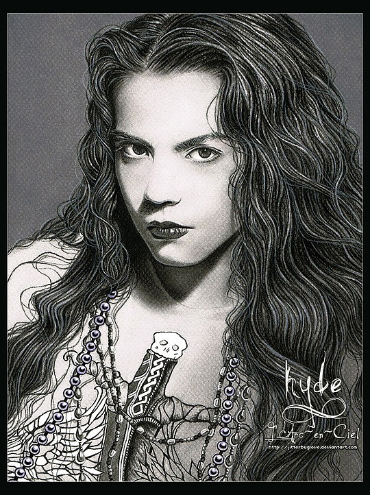 Amazing Portrait Illustrations by Jitterbuglove
