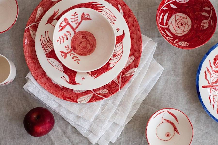 Nice Handcrafted Ceramic Plates
