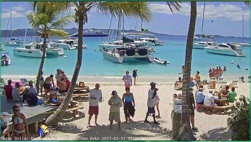 Фото с пляжа в Белой бухте острова Йост-Ван-Дейк (Британские Виргинские острова) (9).jpg
