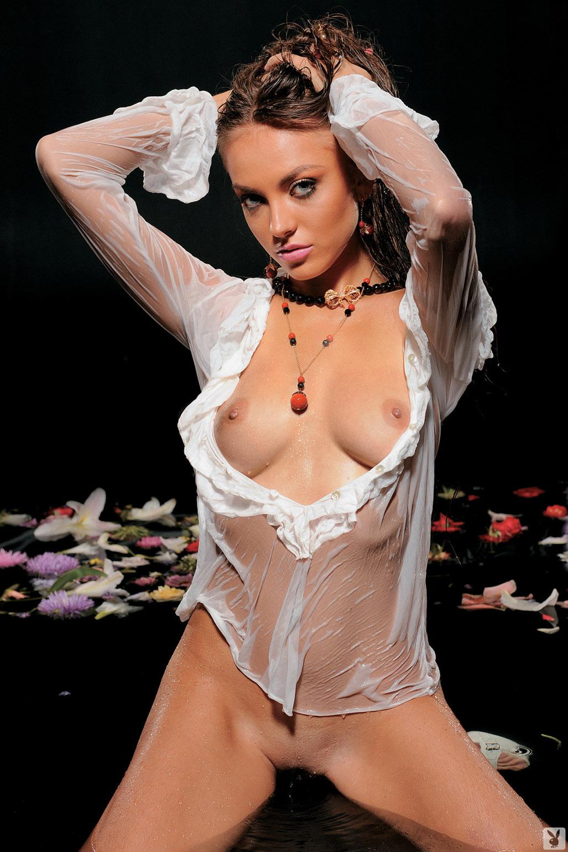Девушка месяца Инна Лищук - Playboy Ukraine october 2010