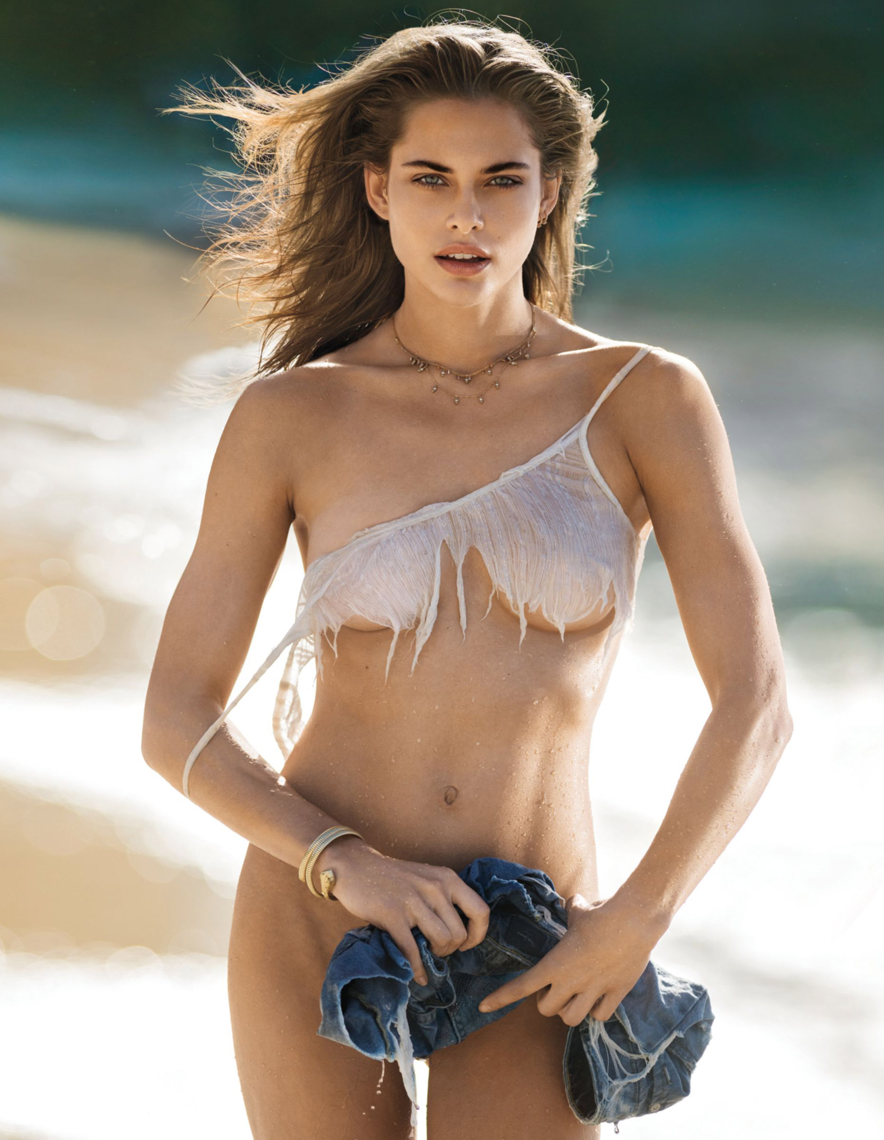 Лана Закосела / Lana Zakocela by nude Gilles Bensimon - Maxim US may 2017