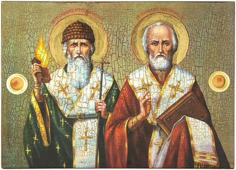 25-е декабря- память Святителя Спиридона Тримифунтского, чудотворца (ок. 348).