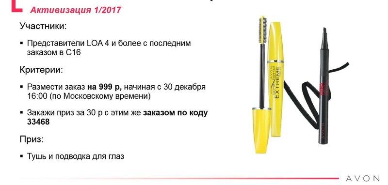 программа активизация 01 2017