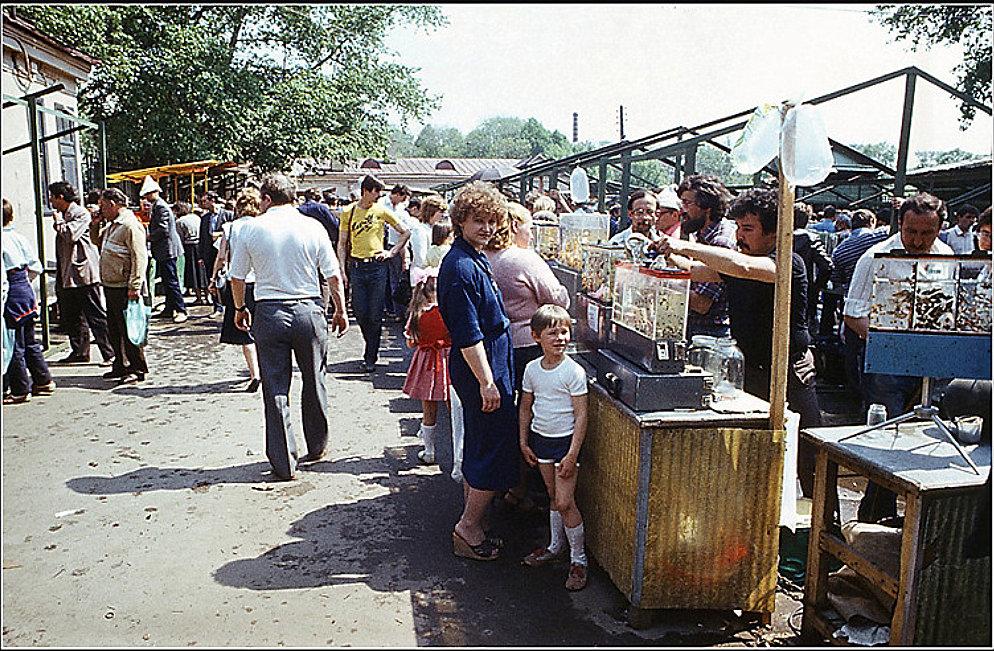 Птичий рынок С. Миронов 1984.jpg