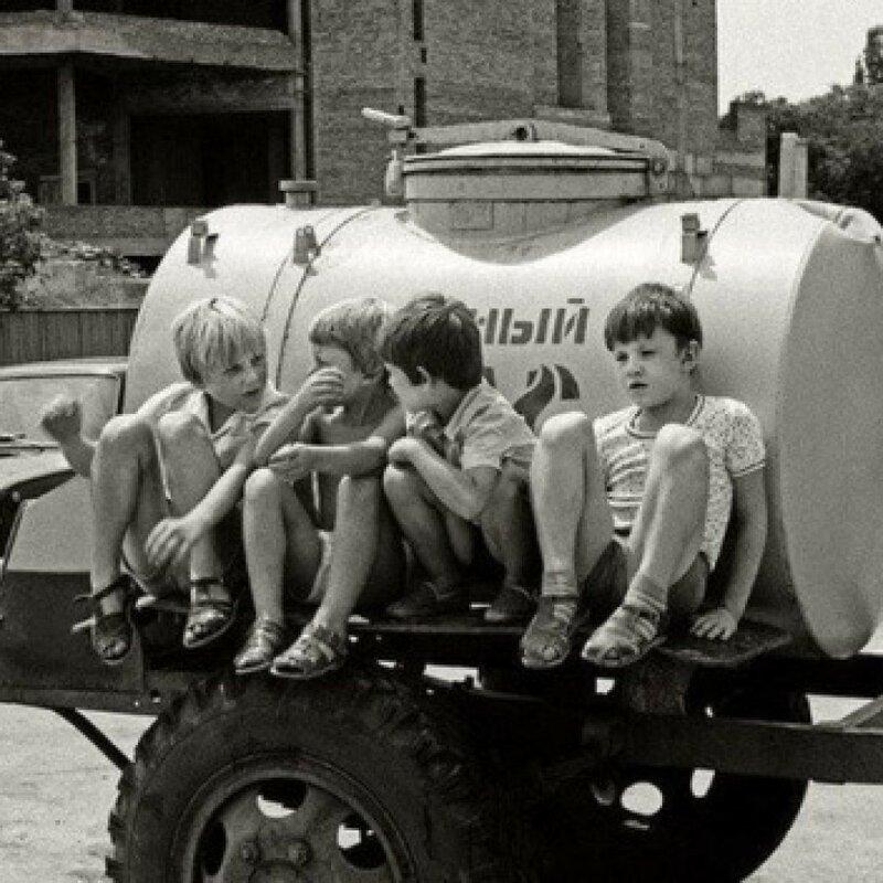 Лето, дети и квас