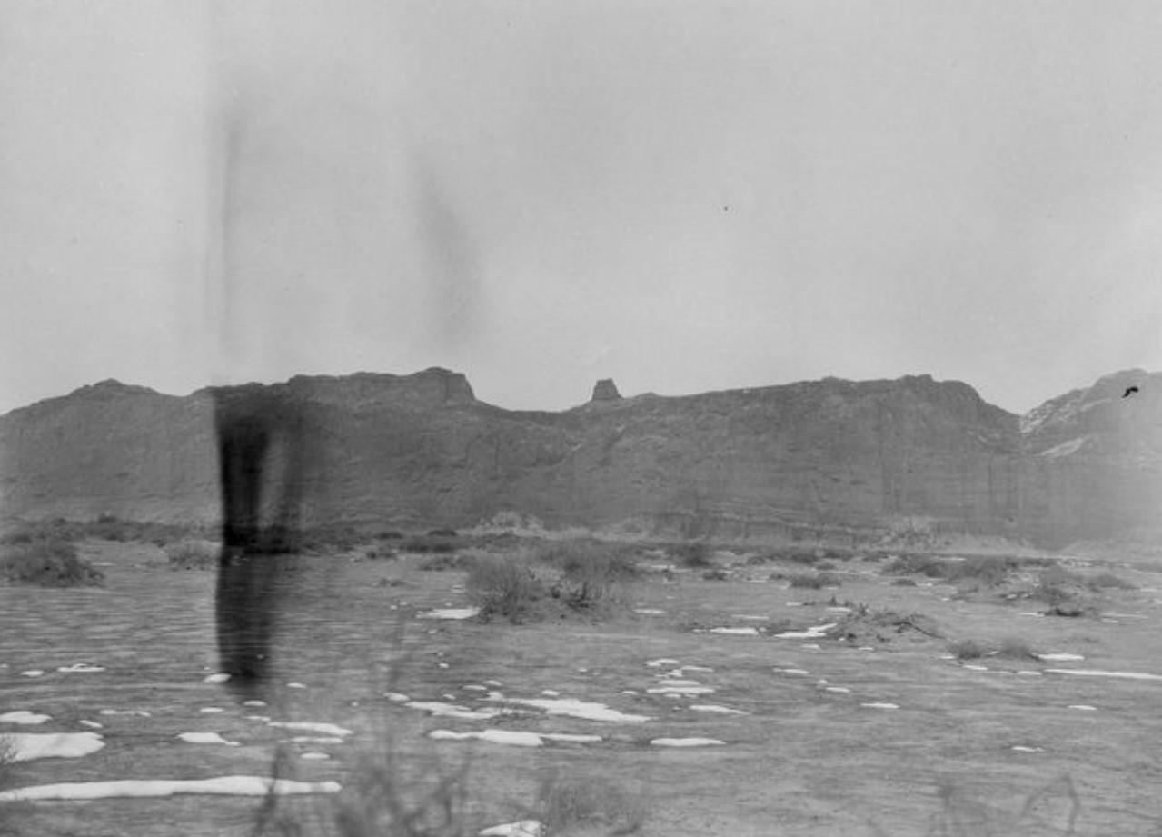 Руины Великой стены между Ачалином и Кельпином