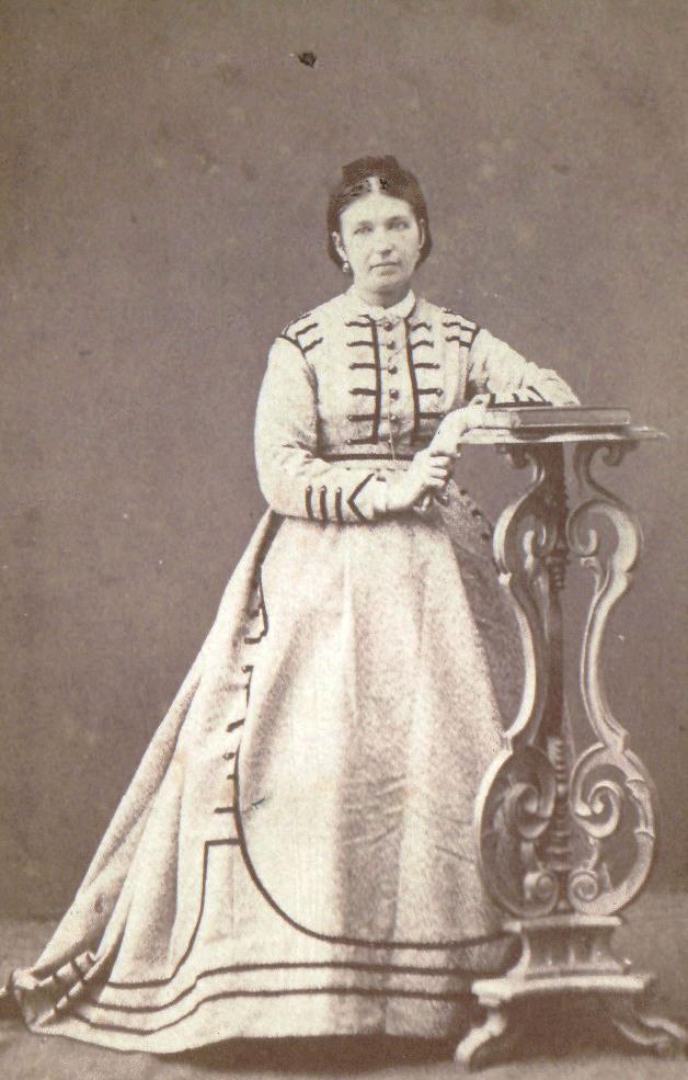 Портрет женщины. 1860-1870