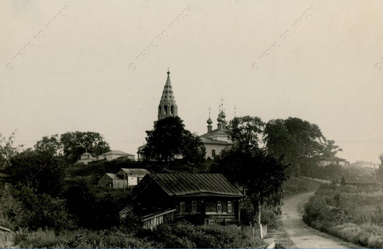 Окрестности Мурома. Церковь в селе Арефино (Зяблицкий погост)
