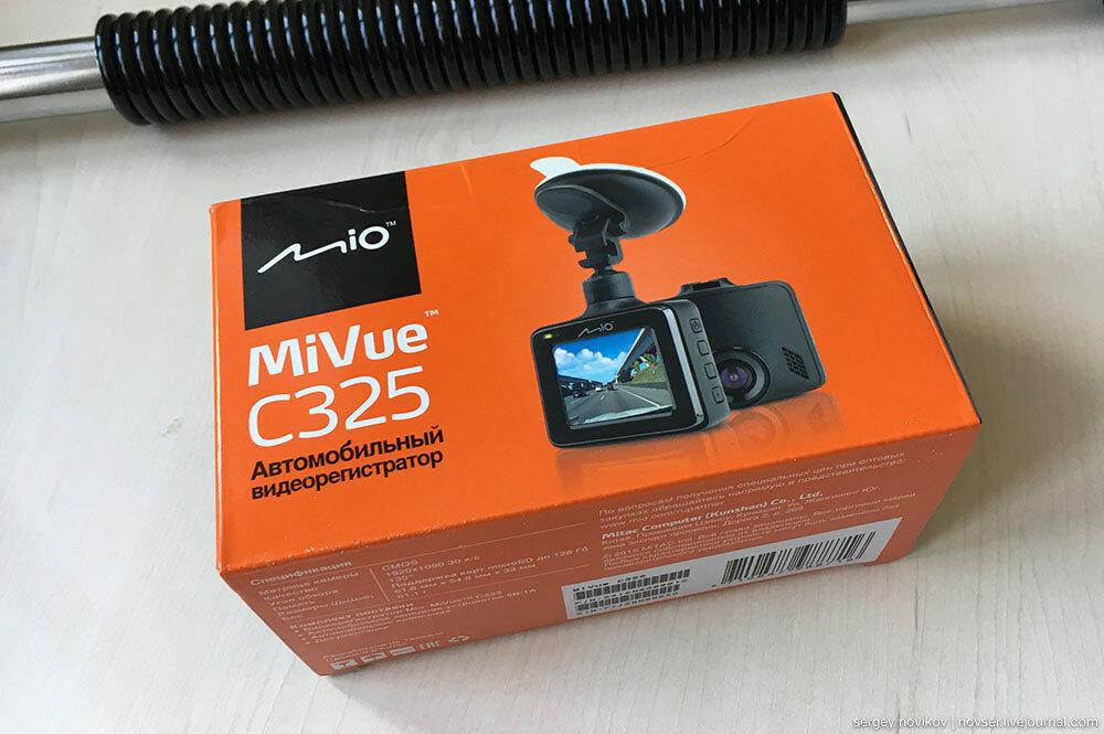 Видеорегистратор Mio MiVue C325