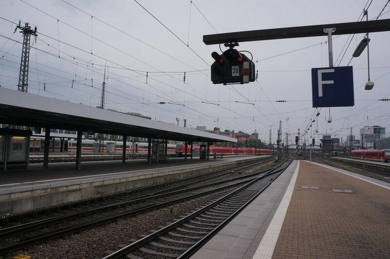 Мюнхен, главный вокзал