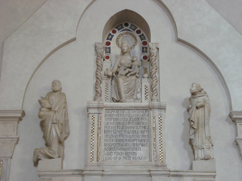 012-мавзолей Брея (Богородица, ап.Марк и кардинал Брей, св.Доминик).jpg