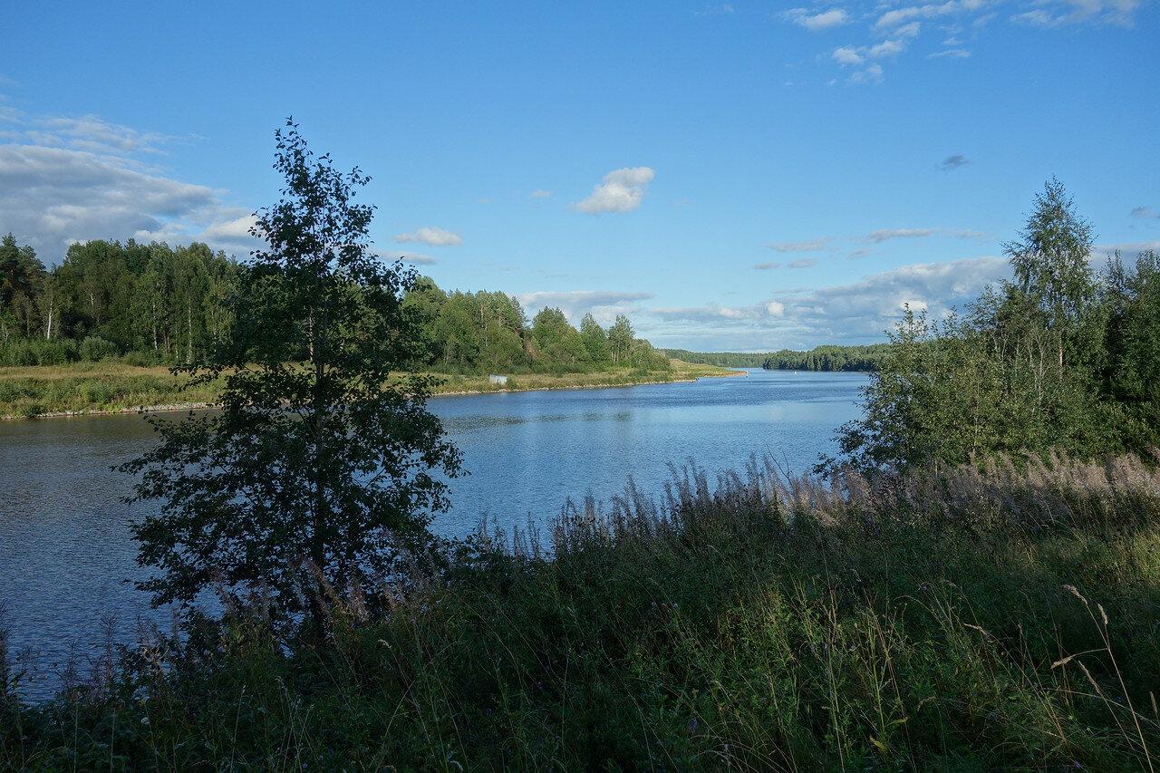 канал Вытегра-Ковжа
